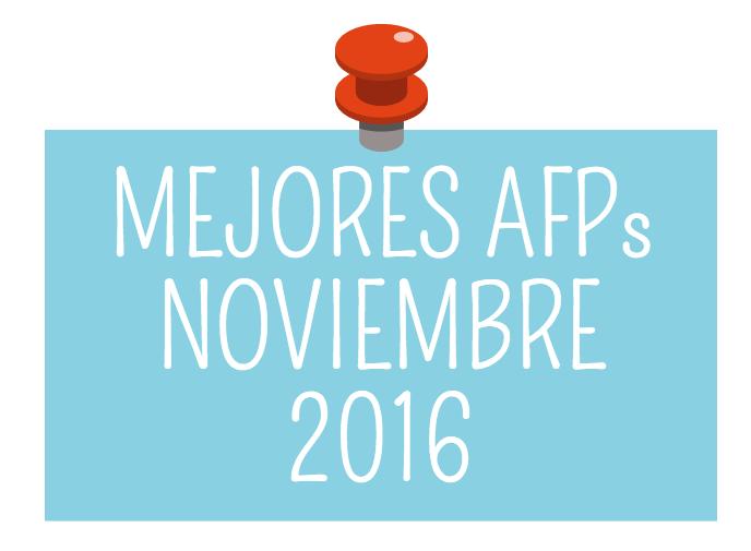 Rentabilidad AFP: Mejores AFP Noviembre