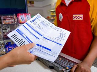 Depósitos en Oxxo: Pago de Servicios