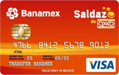 Depósitos en Oxxo: Tarjeta Saldazo con Citibanamex