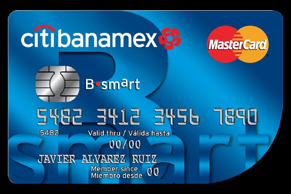 Tarjetas Crédito Citibanamex: B·Smart