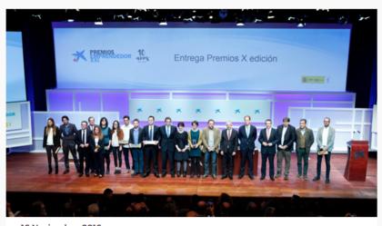 Premio emprendedores xxi foro