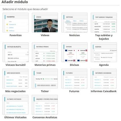 Bolsa abierta modulos informacion foro