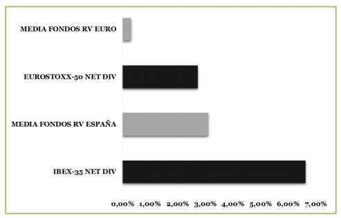 Rentabilidad fondos de inversión renta variable 2000 - 2015