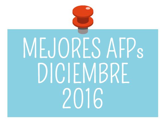 Mejores AFPs diciembre 2016: AFP Habitat y AFP Modelo