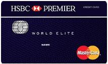 Mejores Tarjetas de Crédito 2018: HSBC Premier World Elite MasterCard