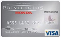 Mejores tarjetas de crédito 2018: Club Privilegios Honda