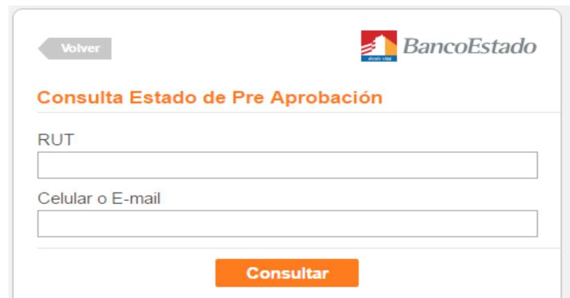 Créditos Bancoestado Consulta