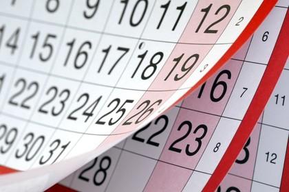 Calendario foro