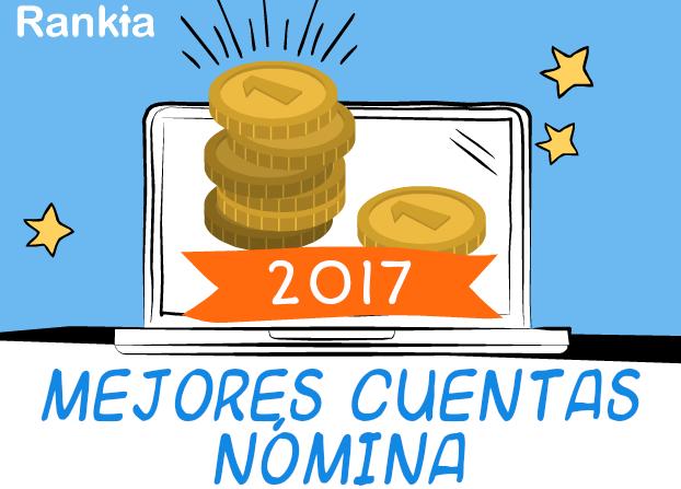 Mejores cuentas nómina 2017