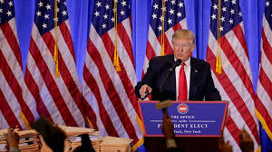 Conferencia de prensa, Donald Trump