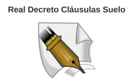 Real decreto clausulas suelo foro