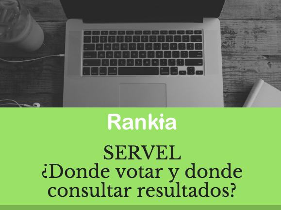 Servel: ¿Dónde votar y dónde consultar resultados?