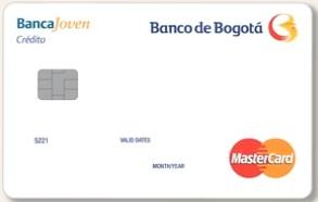 Tarjeta Banco de Bogotá