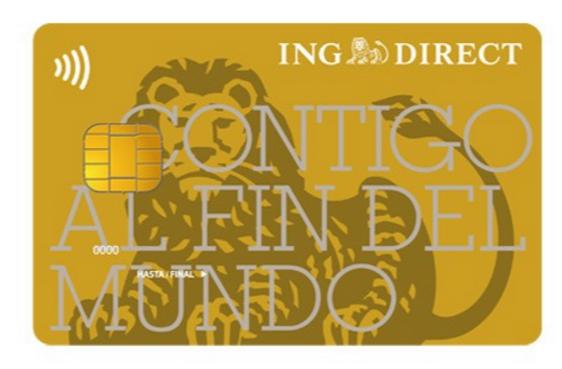 Tarjeta de crédito Visa oro de ING