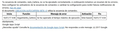 error google