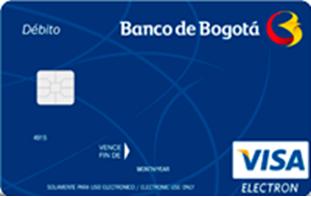 Mejores tarjetas de débito para 2018: Banco de Bogotá