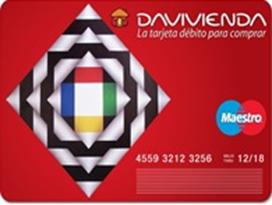 Mejores tarjetas de débito para 2018: Banco Davivienda
