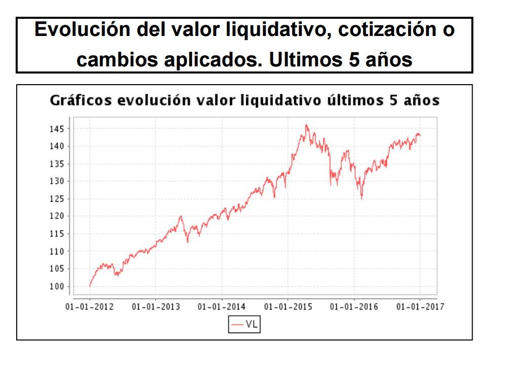 Evolución Valor Liquidativo Elitia Invest