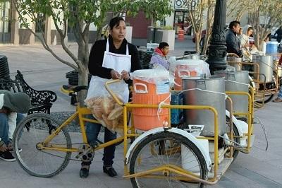 Triciclo carga foro