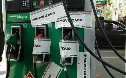Gasolinerías que no venden litros de a litro