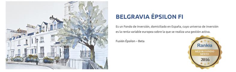 Belgravia Epsilon mejor fondo de renta mixta