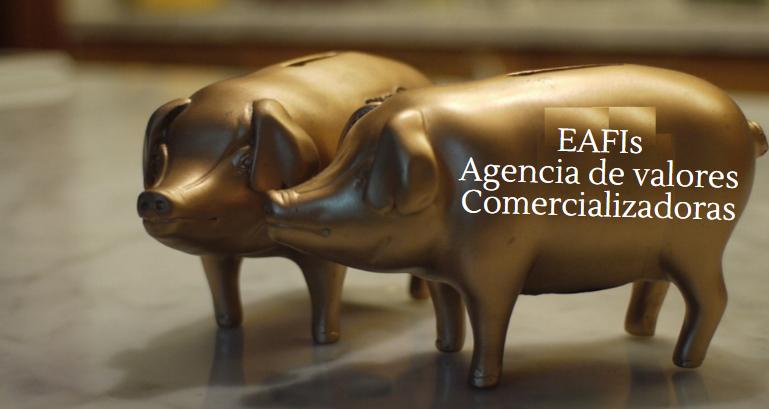 Diferencias entre agencias de valores, EAFIs y comercializadoras