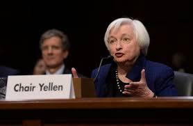 janet yellen, comparecencia, reserva federal, tasas de interes