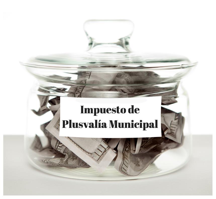 TRIBUNAL CONSTITUCIONAL: IMPUESTO DE PLUSVALÍA MUNICIPAL
