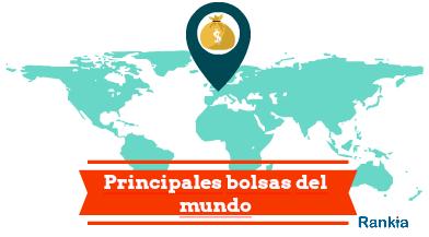 Principales bolsas del mundo y sus indicadores