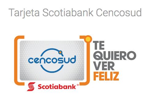 ¿Cuales son las mejores tarjetas para ahorrar gasolina?: Tarjeta Scotiabank CENCOSUD
