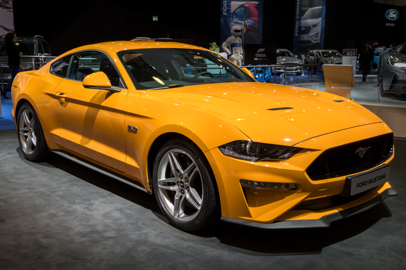 Der Ford Mustang GT/VanderWolf Images