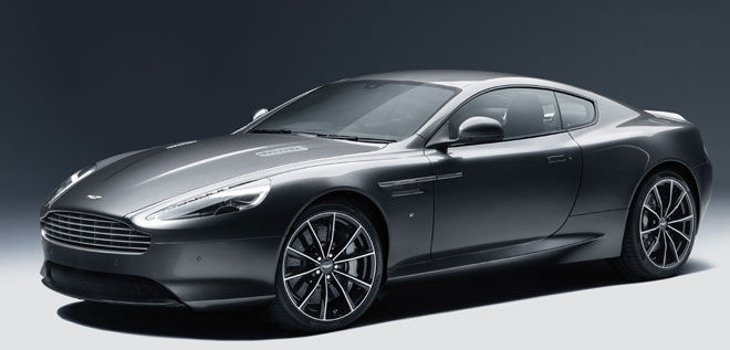 Aston Martin DB9 GT Coupé.