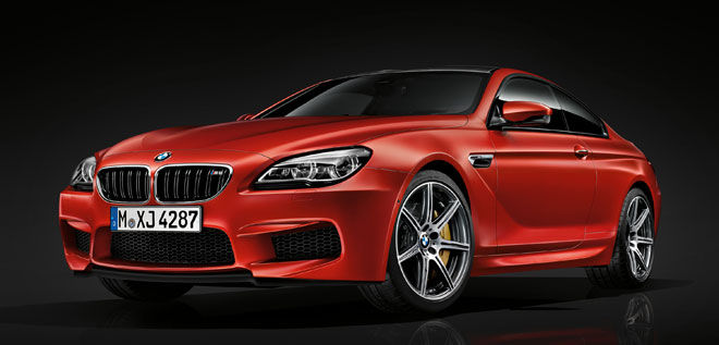 BMW M6 mit Competition-Paket.