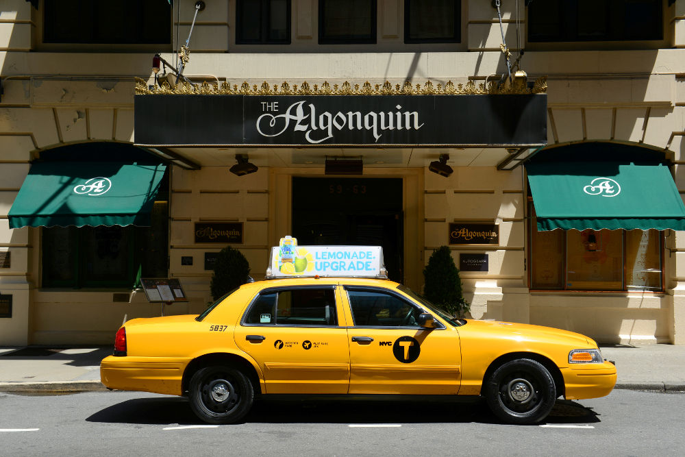 Der CrownVic als Taxi im Big Apple.