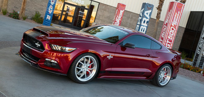 Ford Mustang Shelby Super Snake.