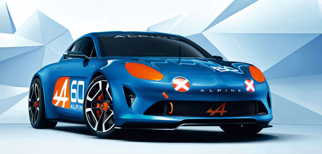 Renault Alpine Celebration Concept.