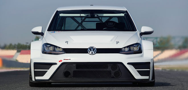 VW Golf TCR Concept.