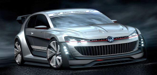 VW GTI Supersport Vision Gran Turimso.