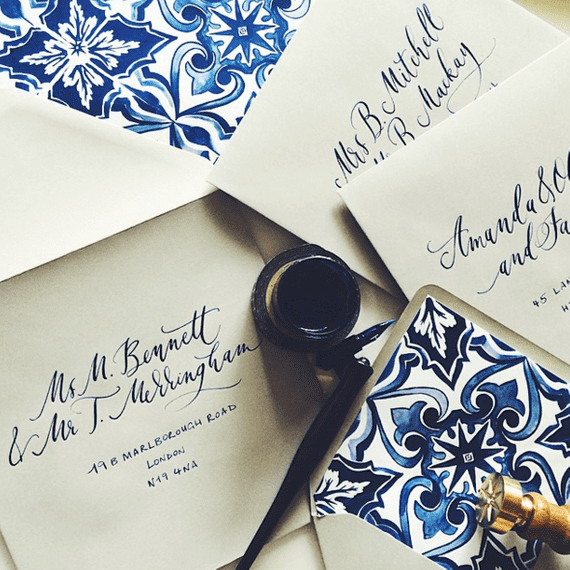 "Stationery by <a href=""https://www.plumecalligraphy.com/"" target=""_blank"">Plume Calligraphy</a>"
