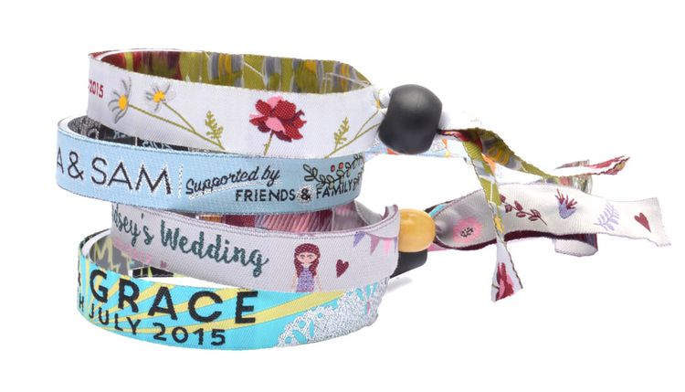 Wedding Wristbands - Perfect for your Festival Wedding
