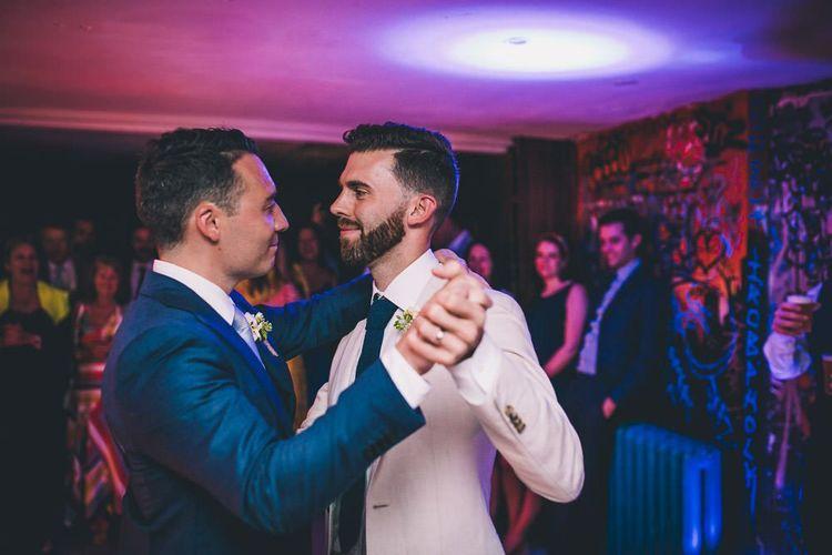 First dance at same sex wedding