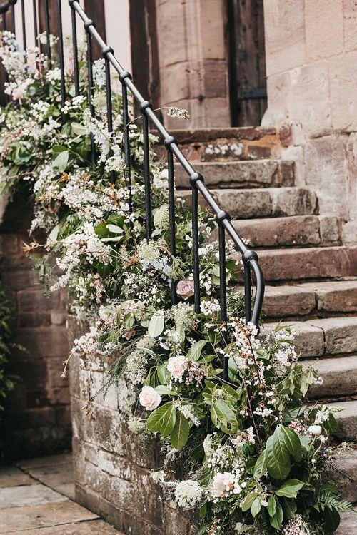 Wedding flowers at Brinsop Court