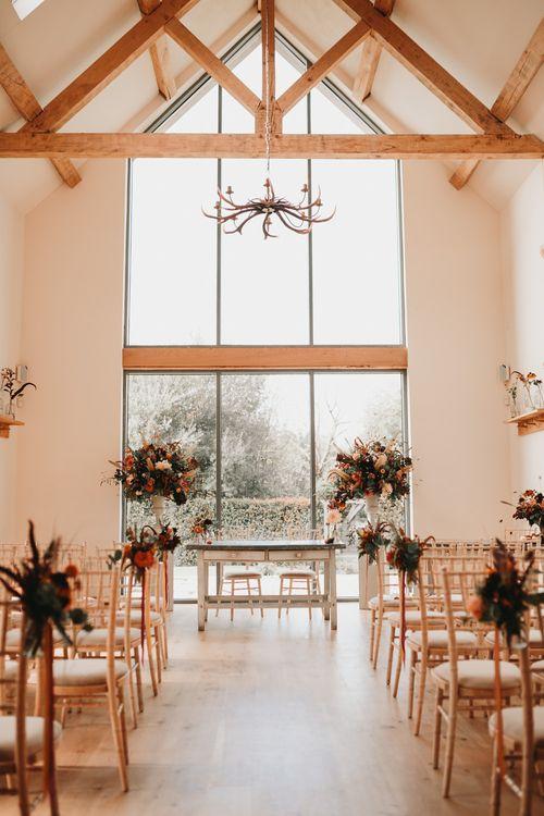 Millbridge Court autumn wedding