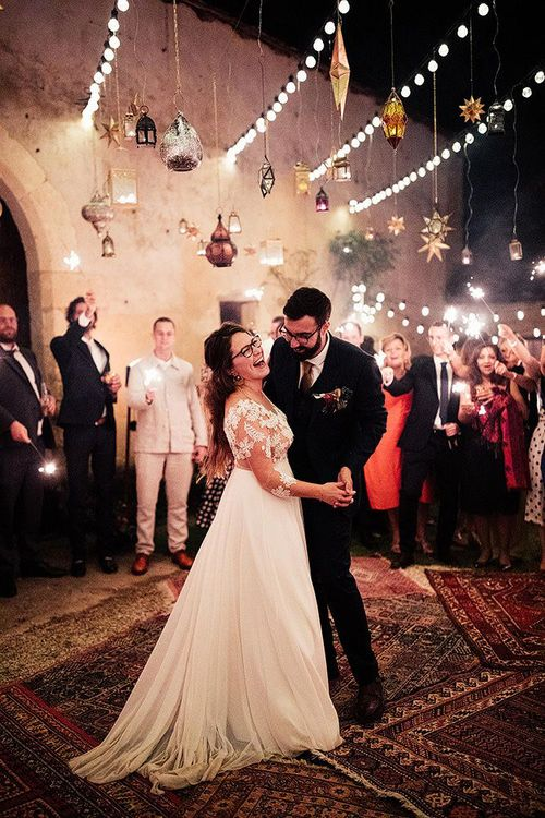 First dance at Moroccan wedding