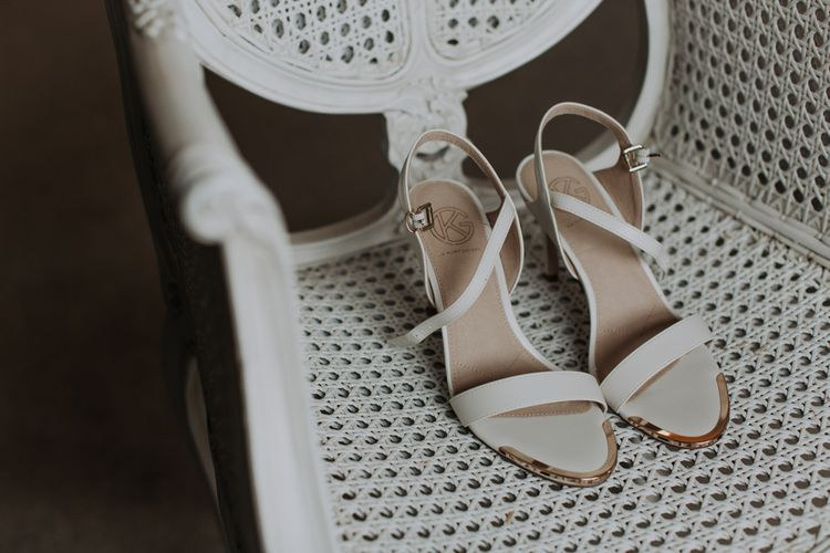 Kurt Geiger wedding shoes