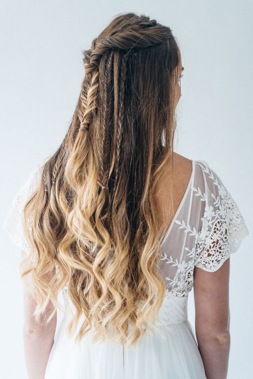 Game Of Thrones Inspired Plaited Hair For Bride