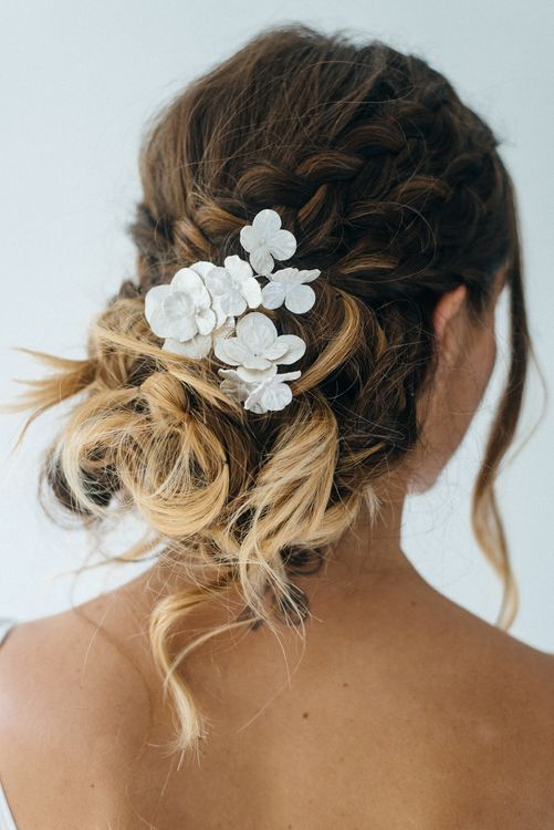Loose Updo With Luna Bea Hair Slides