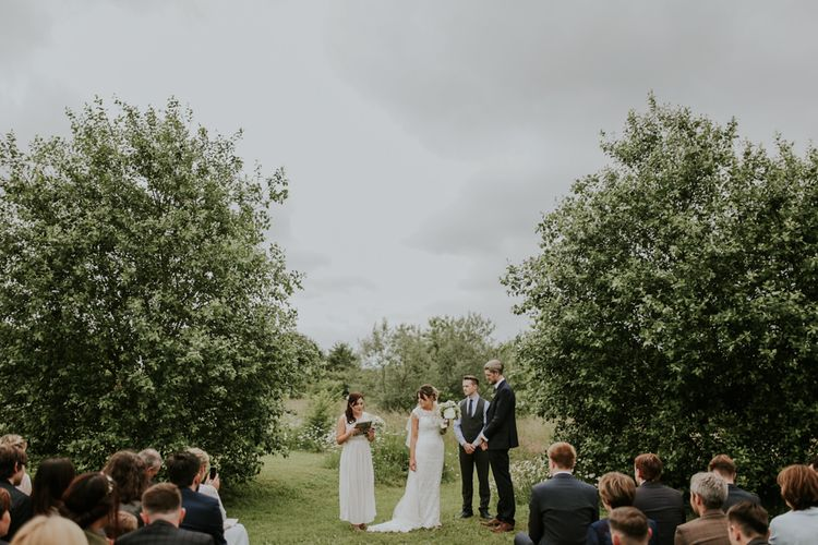 Outdoor 'At home' Wedding Ceremony