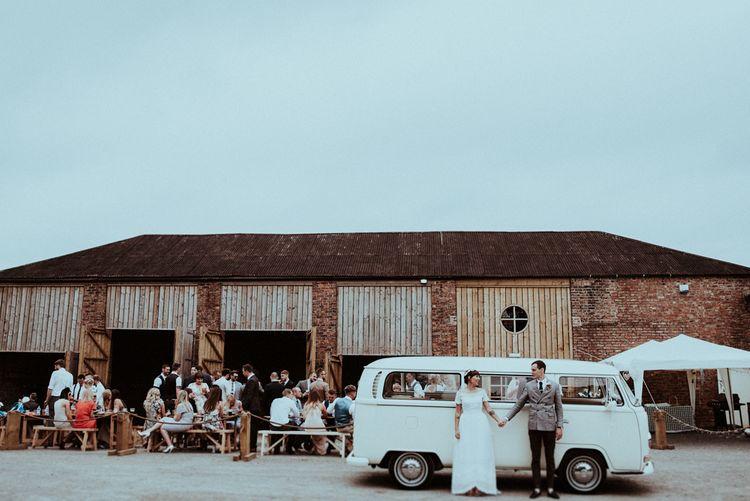 Camper Van Wedding Car