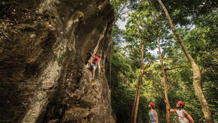 Four Seasons Langkawi - Rock Climbing